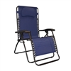 Caravan Oversized Infinity Zero Gravity Chair Blue