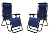Caravan Infinity Zero Gravity Chair Blue (2pk)