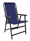 Caravan Suspension Chair Blue