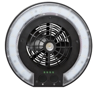 Caravan Disc Fan Light