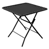 Caravan Textilene Table Black