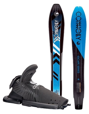 Big Daddy Front Adjustable Velcor RTS Binding Connelly  Slalom Water Ski