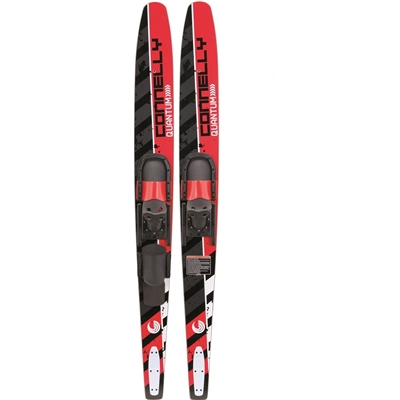 Connelly Quantum Slide Adjustable Bindings   Combo Water Skis