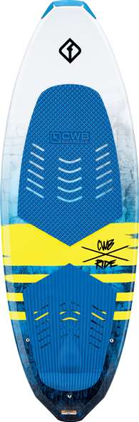 Connelly CWB   RIDE Wakesurf Board 62 inch Package - Includes Tow Rope