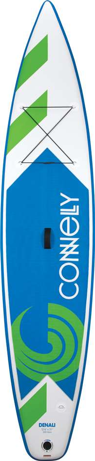 Connelly Denali 12 ft 6 in. iSUP Inflatable Stand Up Paddle Board Package - Paddle, Pump, Carry Bag