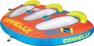 Connelly Triple Threat Towable Inflatable Lake Tube Raft
