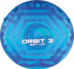 New!  Orbit 3 Soft Top Connelly  Towable Inflatable Lake Tube Raft