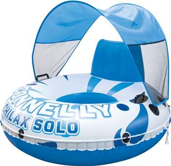 Connelly Chilax Solo w/ Canopy Lounge Inflatable Raft Float