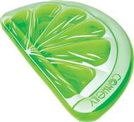 New!  Lime Wedge Float Connelly  Swimming Pool Raft Float