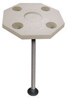 JIF Marine Octagonal Boat Table Kit - Includes Base