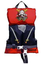 Flowt Infant Type II or Child Type III Pirates Life Vest