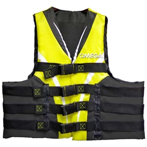 Extreme Sports Life Vest - Yellow LG/XLG