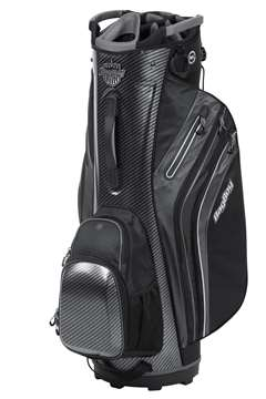 Bag Boy Cart Golf Bag New Shield Cart Bag  CarbonFiber/Black/Charcoal