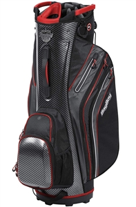 Bag Boy Cart Golf Bag Shield Cart Bag  CarbonFiber/Black/Red