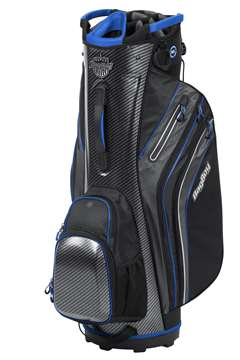 Bag Boy Cart Golf Bag Shield Cart Bag  CarbonFiber/Black/Royal