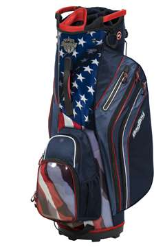 Bag Boy Cart Golf Bag Shield Cart Bag  Usa/Navy/Red/White
