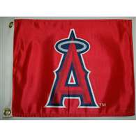"Boat/Golf Cart 14"" X 15"" Los Angeles ANGELS GOLF CART FLAG"
