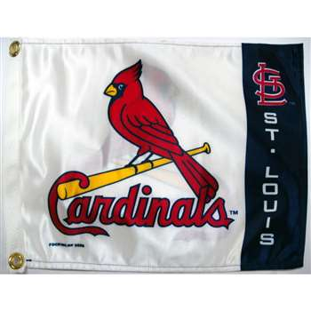 "Boat/Golf Cart 14"" X 15"" St. Louis CARDINALS GLF CRT FL"