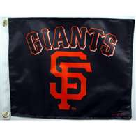 "Boat/Golf Cart 14"" X 15"" San Francisco GIANTS GOLF CART FLG"