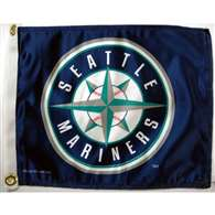 "Boat/Golf Cart 14"" X 15"" Seattle MARINERS GLF CRT FLG"