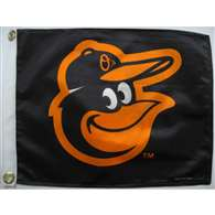 "Boat/Golf Cart 14"" X 15"" Baltimore ORIOLES GOLF CRT FLG"