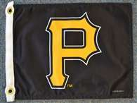 "Boat/Golf Cart 14"" X 15"" Pittsburgh PIRATES GOLF CRT FLG"