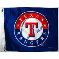 "Boat/Golf Cart 14"" X 15"" Texas RANGERS GOLF CRT FLG"