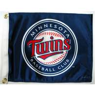 Boat/Golf Cart 14X15 Minnesota TWINS GOLF CART FLAG