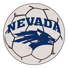 University of Nevada  Soccer Ball Mat, Rug , Carpet