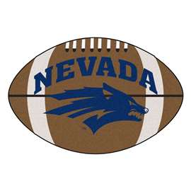 University of Nevada  Football Mat Mat Rug Carpet