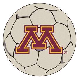 University of Minnesota  Soccer Ball Mat, Rug , Carpet