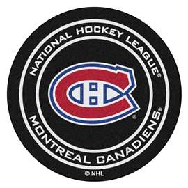 NHL - Montreal Canadiens Puck Mat Ball Mats