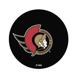 "NHL - Ottawa Senators Mat, Carpet, Rug 27"" diameter"
