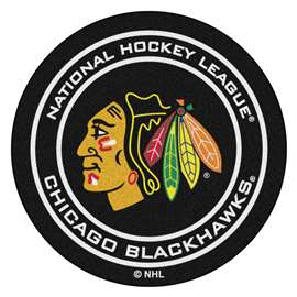 "NHL - Chicago Blackhawks Mat, Carpet, Rug 27"" diameter"