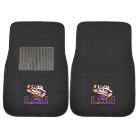 Louisiana State University  2-pc Embroidered Car Mat Set