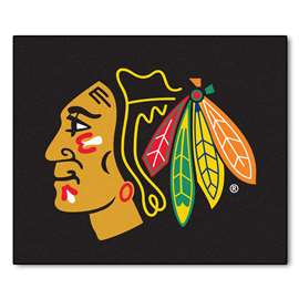 "NHL - Chicago Blackhawks Rug, Carpet, Mats 59.5""x71"""