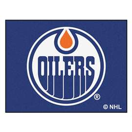 NHL - Edmonton Oilers Rug Carpet Mats 33.75 X 42.5 Inches