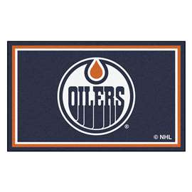 NHL - Edmonton Oilers Rug Carpet Mats 44 X 71 Inches