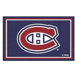 NHL - Montreal Canadiens Rug Carpet Mats 44 X 71 Inches