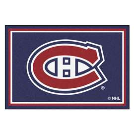 NHL - Montreal Canadiens Rug Carpet Mats 59.5 X 88 Inches