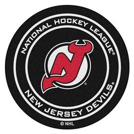 "NHL - New Jersey Devils Mat, Carpet, Rug 27"" diameter"