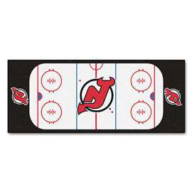 "NHL - New Jersey Devils Mat, Rug , Carpet 30""x72"""