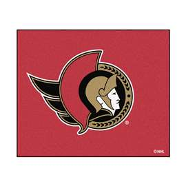 "NHL - Ottawa Senators Rug, Carpet, Mats 59.5""x71"""