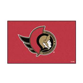 "NHL - Ottawa Senators Rug, Carpet, Mats 59.5""x94.5"""