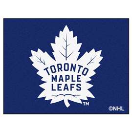 NHL - Toronto Maple Leafs Rug Carpet Mats 33.75 X 42.5 Inches