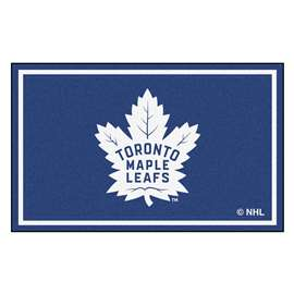 NHL - Toronto Maple Leafs Rug Carpet Mats 44 X 71 Inches