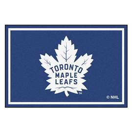 NHL - Toronto Maple Leafs Rug Carpet Mats 59.5 X 88 Inches