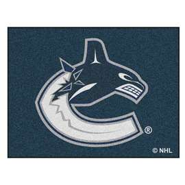 NHL - Vancouver Canucks Rug Carpet Mats 33.75 X 42.5 Inches