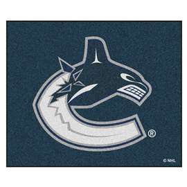 "NHL - Vancouver Canucks Rug, Carpet, Mats 59.5""x71"""