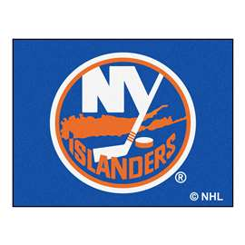 NHL - New York Islanders Rug Carpet Mats 33.75 X 42.5 Inches